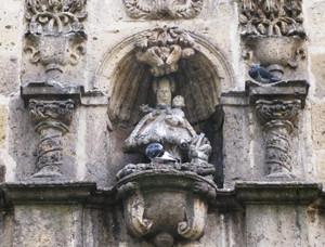 Facade of Lady of Aranzazu Church